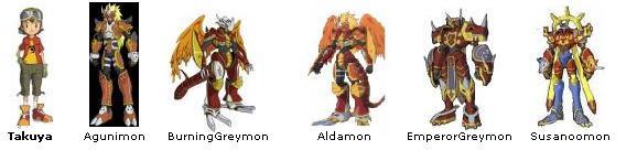 Digimon Frontier Agunimon
